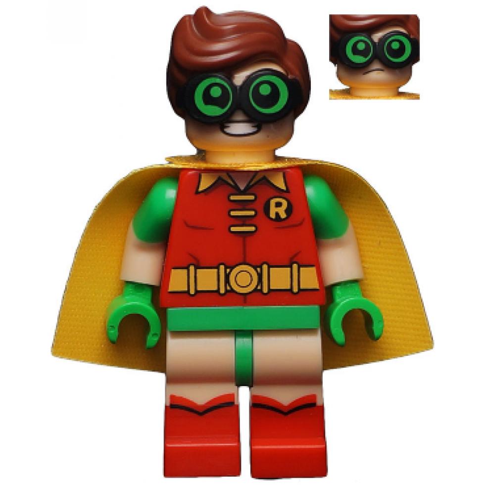 LEGO MINIFIGS The LEGO Batman Movie Robin - Green Glasses