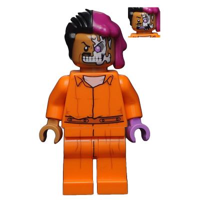 LEGO MINIFIGS The LEGO Batman Movie Two-Face  - Combinaison de prison