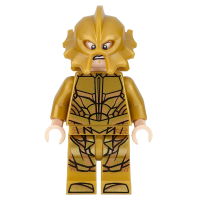 LEGO MINIFIGS Super Heroes Atlantean Guard - expression effrayée