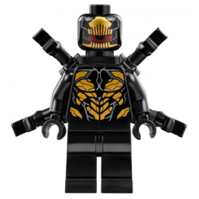 LEGO MINIFIG SUPER HEROES Outrider - bras étendus