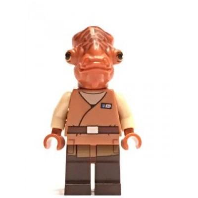 LEGO MINIFIG STAR WARS Admiral Ackbar