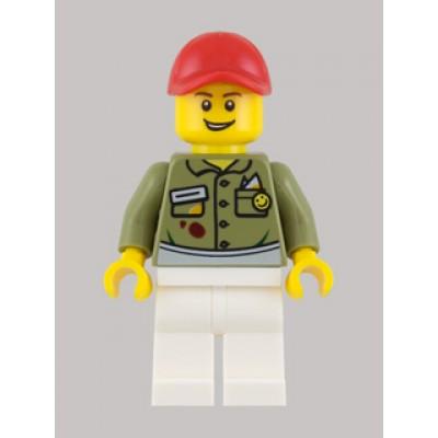 LEGO MINIFIG CREATEUR Propriétaire épicerie fine