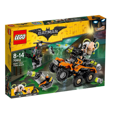 LEGO BATMAN MOVIE L'attaque en camion toxique de Bane 2017