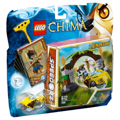 LEGO CHIMA Les portes de la jungle 2013