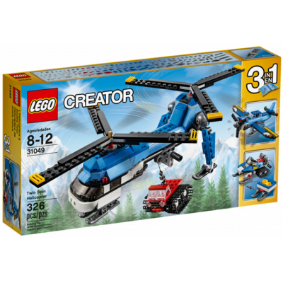 LEGO CREATOR L'hélicoptère a double rotor 2016