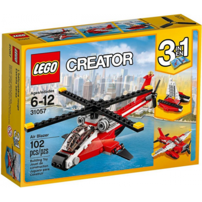 LEGO CREATOR L'hélicoptère rouge 2017