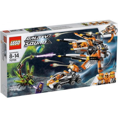 LEGO GALAXY SQUAD Le vaisseau insecticide 2013