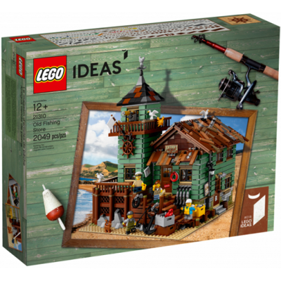 LEGO IDEAS  Le magasin d'articles de pêche 2017