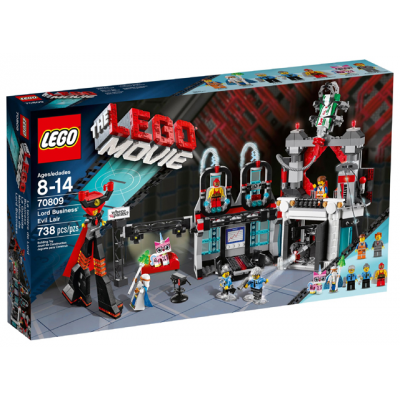 LEGO MOVIE La taniere de Lord Business 2014
