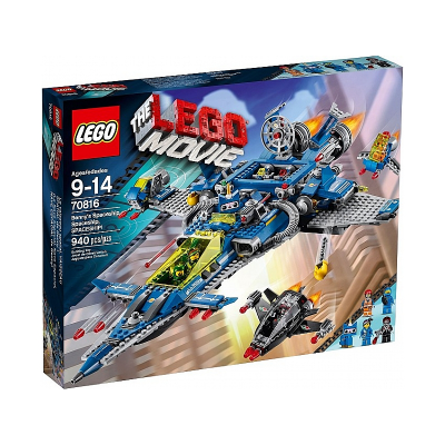 LEGO MOVIE Vaisseau spatial de Benny 2014