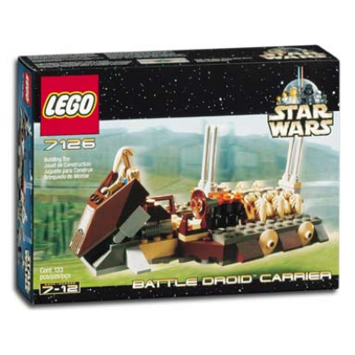 LEGO STAR WARS Collection Battle Droid Carrier 2001