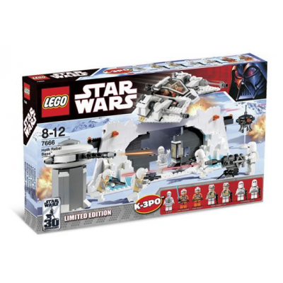 LEGO STAR WARS Collection Base des rebel Hoth 2007