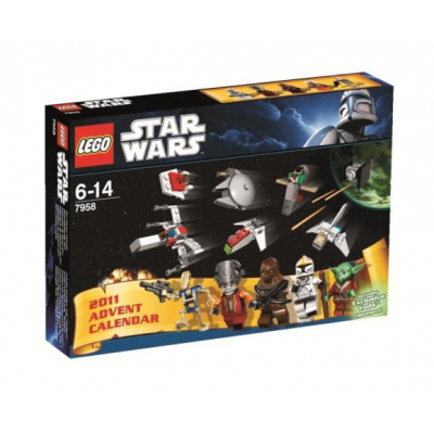 LEGO STAR WARS Collection Calendrier de l'avent 2011