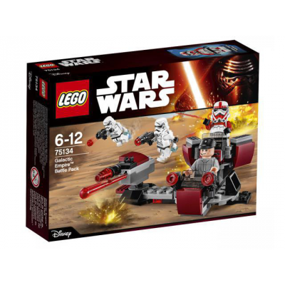 LEGO STAR WARS Ensemble de combat de l'empire Galactique 2016