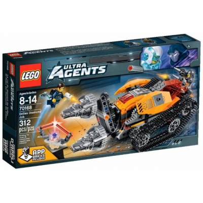 LEGO AGENTS Le vol du diamant de drillex 2015