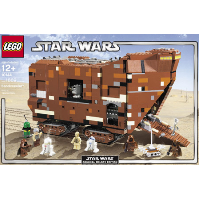 LEGO EXCLUSIF STAR WARS Sand crawler 2005