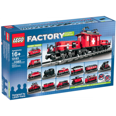 LEGO EXCLUSIF TRAIN HOBY 2007