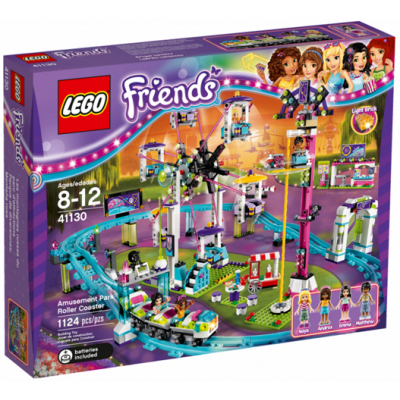 LEGO FRIENDS Les montagnes russes du parc d'attractions 2016