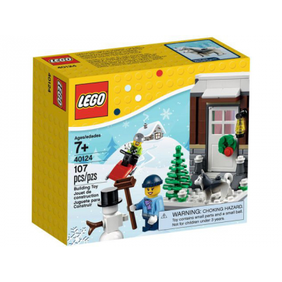 LEGO HOLIDAY Scene hivernale 2015