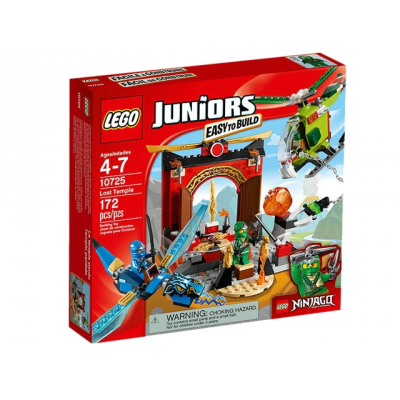 LEGO JUNIORS Le temple perdu 2016