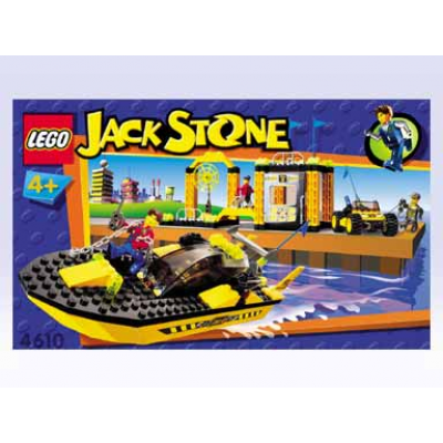LEGO JUNIORS Super Station de sauvetage 2001