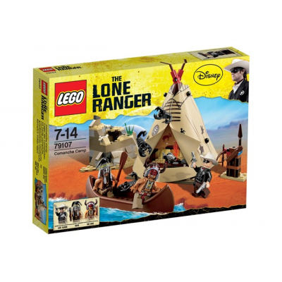LEGO THE LONE RANGER Le camp Comanche 2013