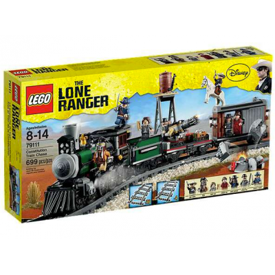 LEGO THE LONE RANGER Poursuite du train constitution 2013
