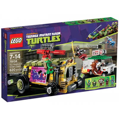 LEGO NINJA TURTLES Course poursuite en shellraiser 2013