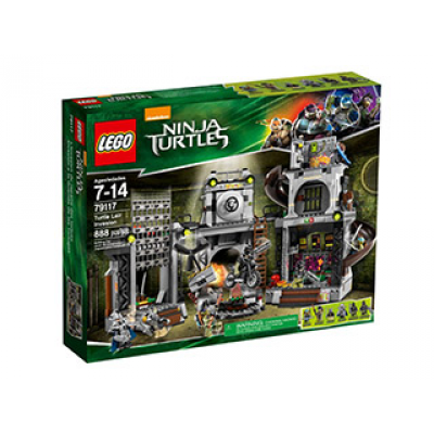 LEGO NINJA TURTLES L'invasion du repaire des tortues 2014