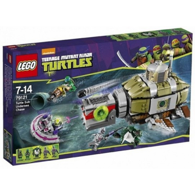 LEGO NINJA TURTLES course-poursuite sous marine 2015