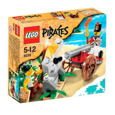 LEGO PIRATES Bataille de canon collection 2009