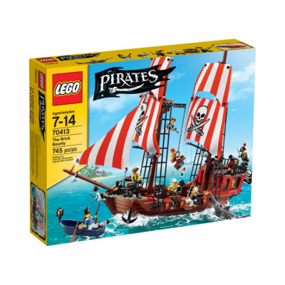 LEGO PIRATES Le bateau pirate 2015
