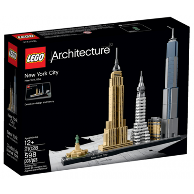 LEGO ARCHITECTURE New York 2016