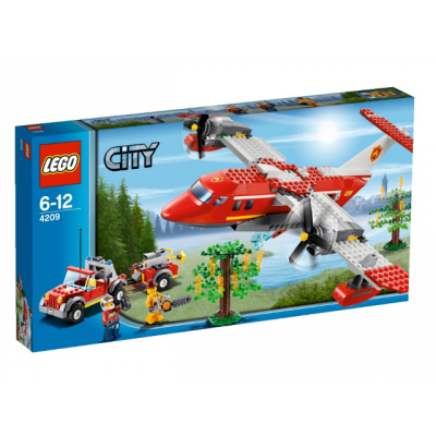 LEGO CITY Avion des pompiers 2012