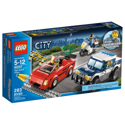 LEGO CITY Course poursuite de la police 2013