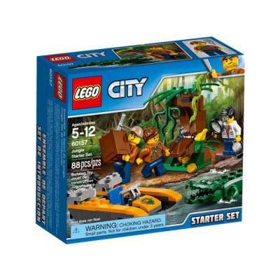 LEGO CITY Ensemble de départ de la jungle 2017