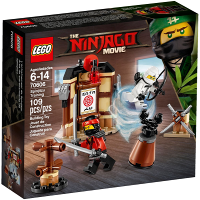 LEGO NINJAGO MOVIE L' entrainement de spinjizu 2017