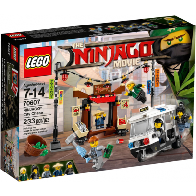 LEGO NINJAGO MOVIE La poursuite dans ninjago 2017