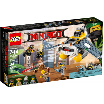 LEGO NINJAGO MOVIE Le bombardier de raie manta 2017