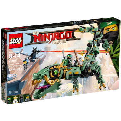 LEGO NINJAGO MOVIE Le dragon robot du ninja vert 2017