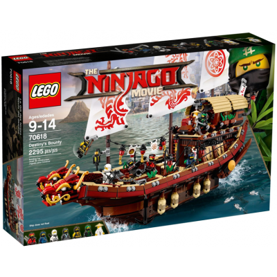 LEGO NINJAGO MOVIE Le QG des ninja  2017