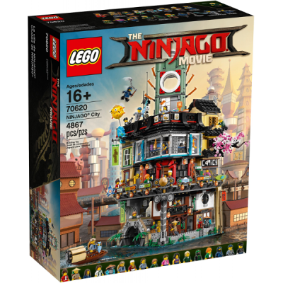 LEGO NINJAGO MOVIE La ville de ninjago  2017