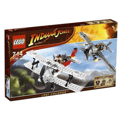 LEGO INDIANA JONES Poursuite en avion 2009