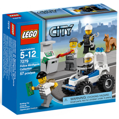 LEGO CITY Collection de figurines city 2011