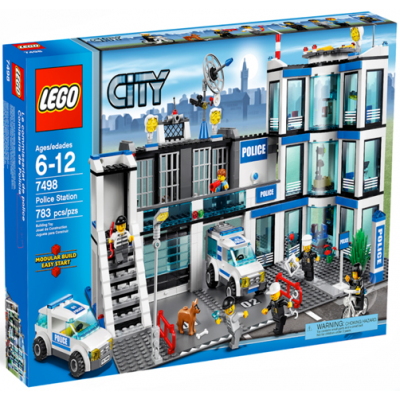LEGO CITY Commissariat de police 2011