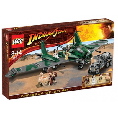 Lego Indiana Jones Le combat sur l'aile d'avion 2009