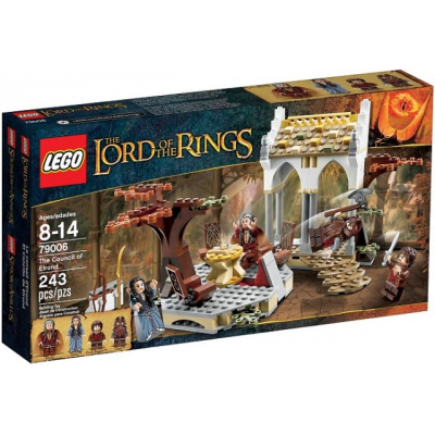 LEGO LORD OF THE RINGS Le conseil d'elrond 2013