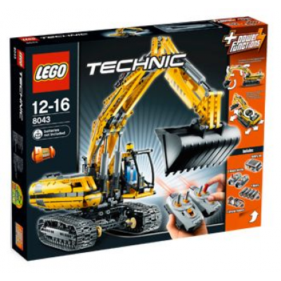 LEGO TECHNIC Chargeuse a chenilles  2010
