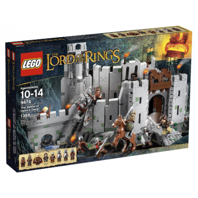 LEGO LORD OF THE RINGS La bataille du gouffre de helm 2012