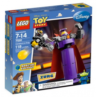 LEGO TOY STORY Zorg a construire 2010
